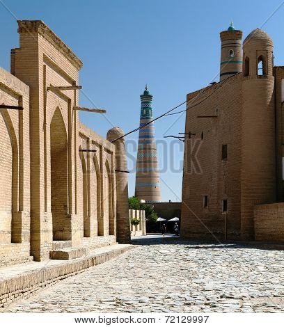 Islom Hoja Minaret - Khiva - Uzbekistan
