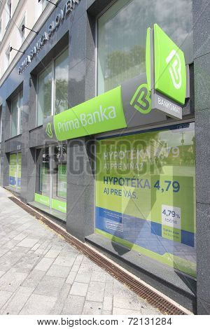 Prima Bank, Slovakia