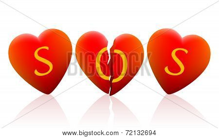 Three Hearts SOS