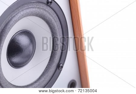 Music Speaker With Space For Text