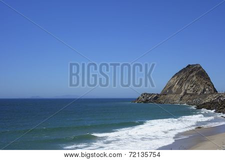 Sandy Beach At Point Mugu, SoCal