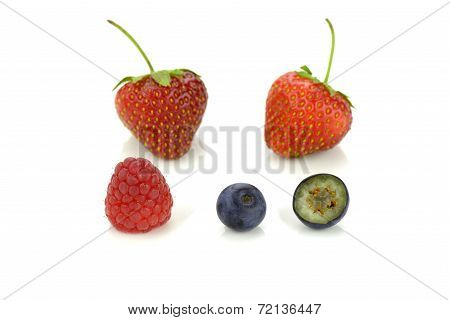 Small Summer Fruits