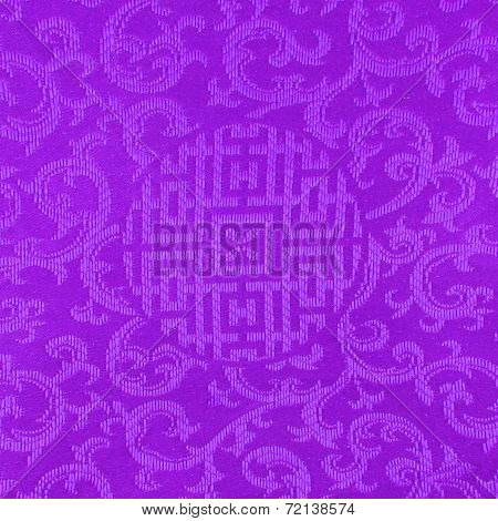 Colorful Thai Fabric Pattern Background
