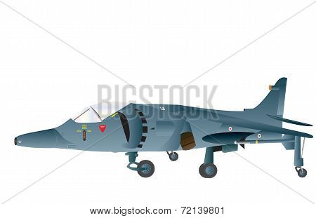 Vertical Takeoff Fighter Plane