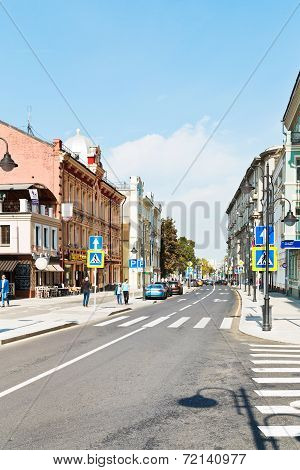 Pjatnitskaya Street In Moscow After Reconstruction