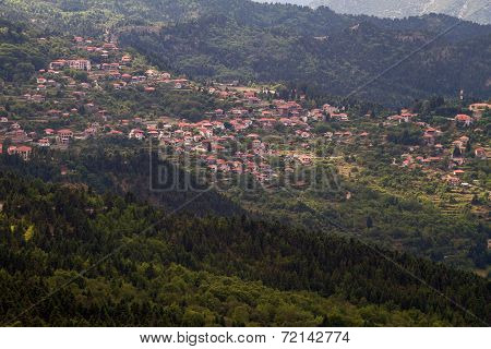 Mountainous Village, Greece