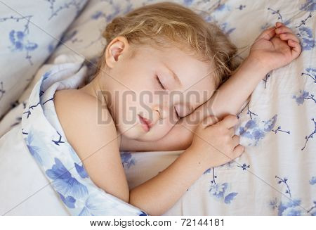 Toddler Girl Is Sleeping