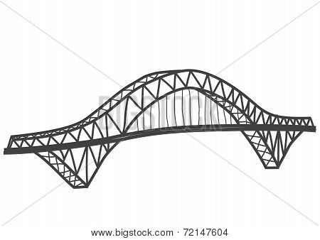 Silver Jubilee Bridge drawing