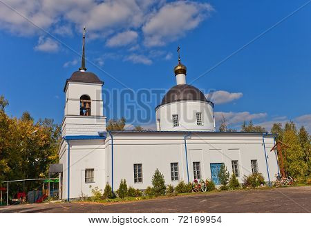 Nativity Of The Theotokos Church (1836). Osechenki, Russia