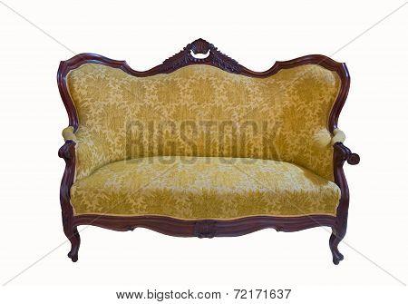 Golden Vintage Sofa