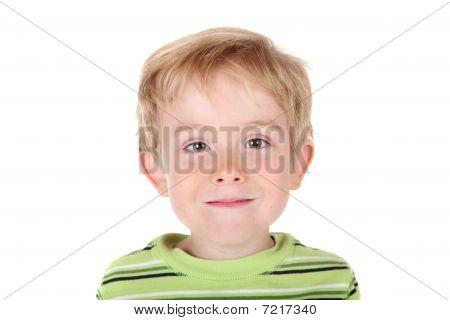 Lächelnd Boy