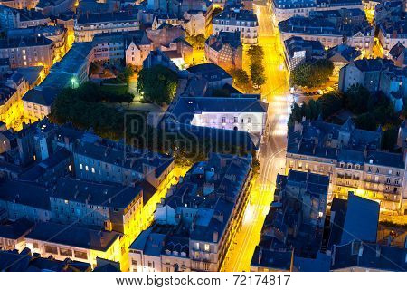 Nantes At A Summer Night