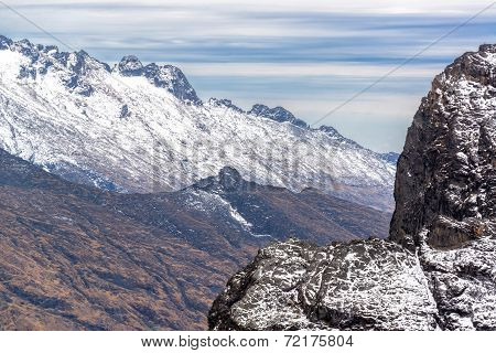 Andes Mountains View