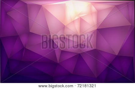 Color polygons background abstract