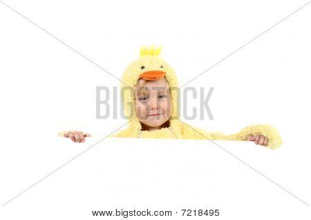 Boy in Chicken Suit