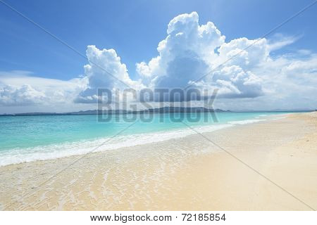 Gorgeous Beach in Summer time