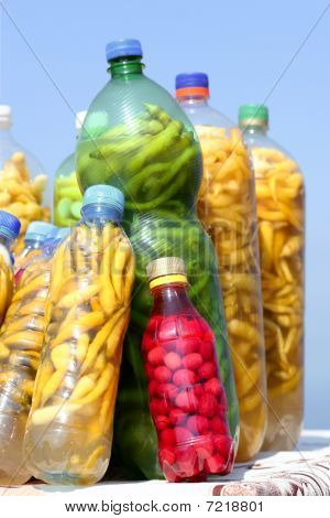 Pickle bottles