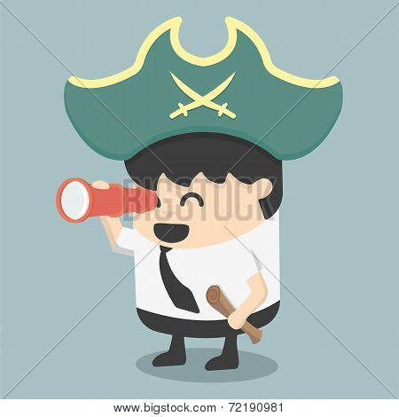 Businessman Pirates  The Hunt