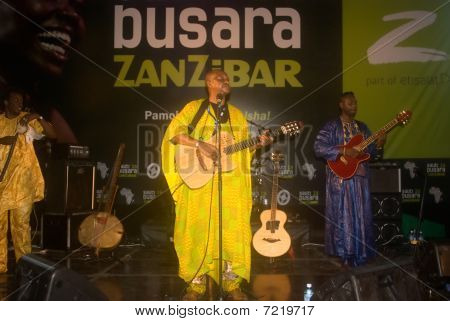 Malick Pathe Sow concert, Stone Town, Zanzibar, Tanzania