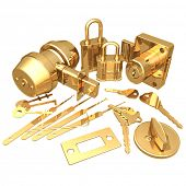 foto of pick-lock  - Gilded Locksmith - JPG