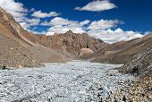 stock photo of himachal  - view from Indian himalayas  - JPG