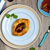 pic of phyllo dough  - Delicious Homemade dessert - JPG