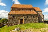 picture of sibiu  - Saxon Church in Cisnadioara Sibiu - JPG