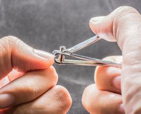 foto of nail-cutter  - Close up shot of nail cutter image  - JPG