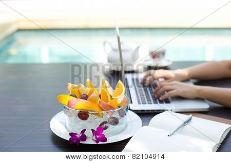 Business People Working At Home