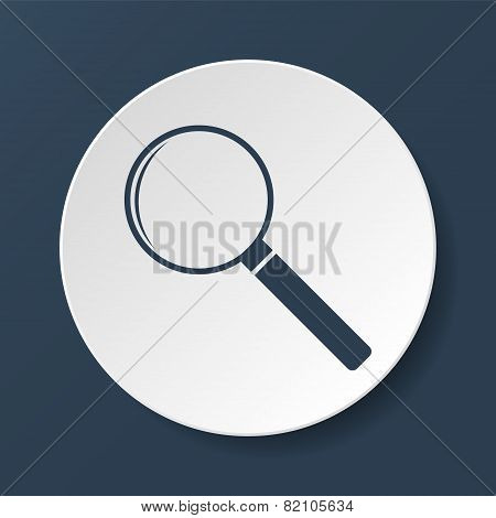 Magnifier - Vector Icon