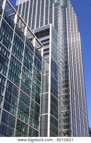 Moderne glas wolkenkrabber