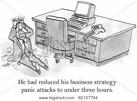 Business Strategy Panic Attacks
