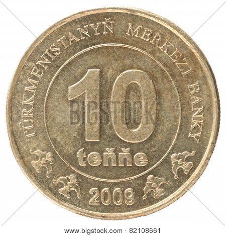 Turkmenistani Coin
