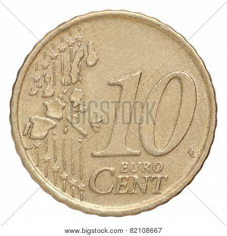 Ten Euro Cents