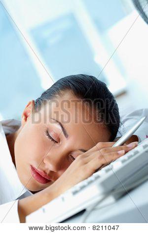 Sleeping Secretary