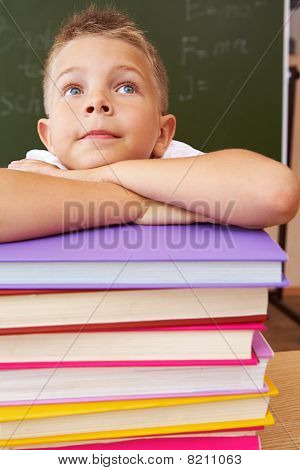 Pupil In Library