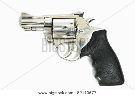 .38Mm Revolvers On White Background