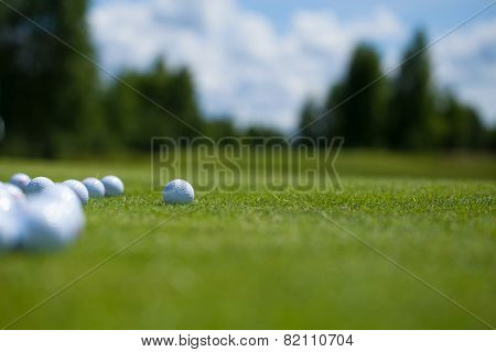 Golf Balls .basket