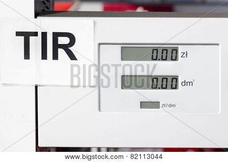 fuel dispenser for TIR