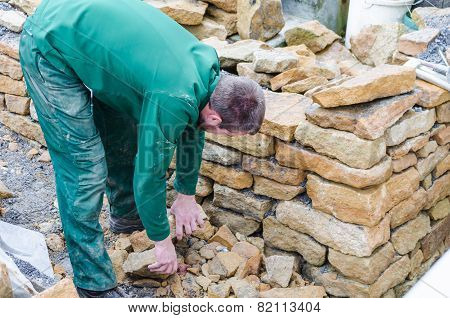 Dry Stone Wall, Stone Wall,