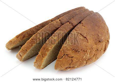 Half Of Rye Bread