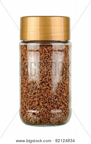 Instant Coffee Jar