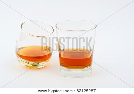 Two Glass Of Whisky