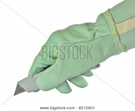 Holding Knife