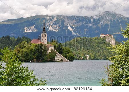 Assumption Church, Bled, Slovenia
