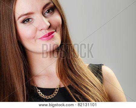 Young Beauty Woman Portrait