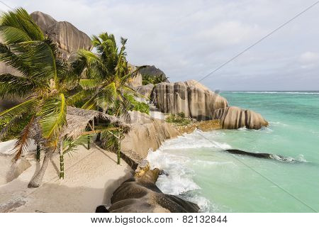 Anse Source D'argent Evening, Seychelles