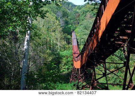 Abandoned Coal Mining Conveyor