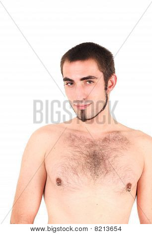 Bare-chested Man