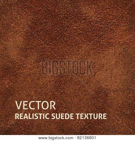 Brown Suede Background